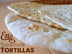 I may never buy store-bought tortillas again- these were super easy and soooo yummy!  @allrecipes