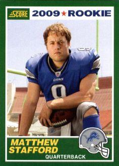 Matthew Stafford football card - Google Search