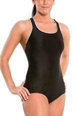 Speedo Aquatic Xtra Life Lycra Plus Size Conservative Ultraback Swimsuit, Black, 22 Speedo. $45.25