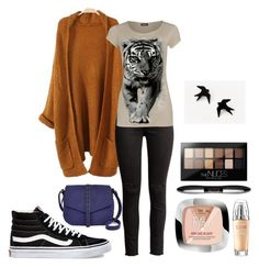 """""""Untitled #131"""" by sarah-stoner-1 on Polyvore featuring WearAll, Vans, A.N.A, L'Oréal Paris and Maybelline"""