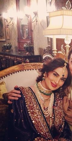 Ather Shahzad bridal makeup on Mehreen Sayed