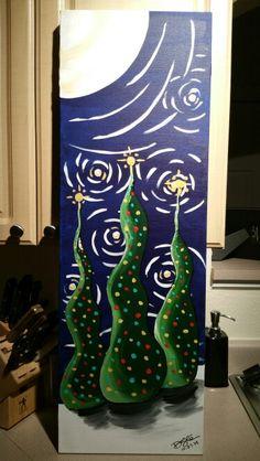12 x36 w 2 inch gallery wrap sold $80