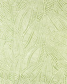 Al Fresco Bananarama Lime outdoor fabric features a fun tropical banana leaf print in lime green and natural