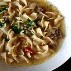"""Beef Noodle Soup 