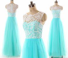 Blue prom dress, off shoulder bridesmaid dress, white lace bridesmaid dress, cheap prom dress, custom bridesmaid dress, PD15430