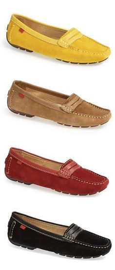 Loafers in every color.