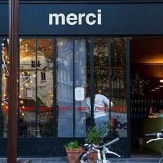 Merci Paris Merci Paris, Paris Love, Shop Around, Shop Interior Design, Store Fronts, Restaurant Bar, Boutiques, Shops, Retail