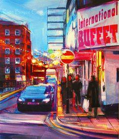 International Buffet Manchester UK  Limited edition by kateboyce, £15.00