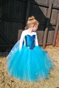 Queen Elsa Costume Tutu Leotard by SocktopusCreations on Etsy