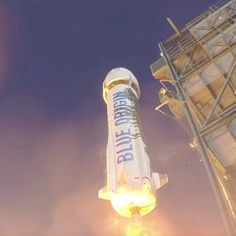 Tech: Watch Jeff Bezos Space Company Launch and Land a Rocket Vertically The company hopes this will change the commercial space industry TIME.com