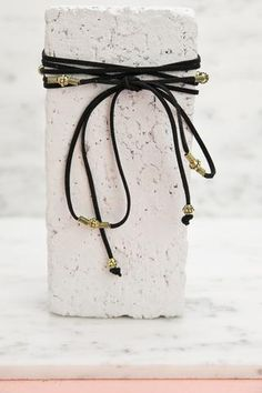 Saint Rope Choker - Black