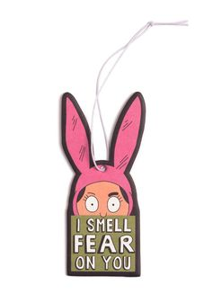 Louise I Smell Fear On You Air Freshener - Aromeco Air Freshener Car Wardrobe Freshener Toilet Freshener Room Freshener Handbag Freshener Scented Sachet Luxury Fragrance - Berries, Delight, Tropical Present Pack of 3 Room Freshener, Car Air Freshener, Bobs Burgers Gifts, Bobs Burgers Louise, Newbury Comics, Anxiety Attacks Symptoms, Scented Sachets, Cute Cars, Feltro