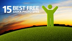 15 best free stock photo sites http://www.beautifullife.info/web-design/15-best-free-stock-photo-sites/#