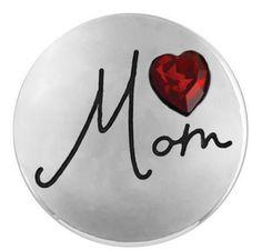 Ginger Snaps Mom (Heart) Snap