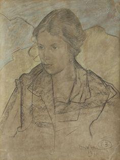 Thunderstruck (Stanisław Ignacy Witkiewicz (Polish, 1885-1939),...)