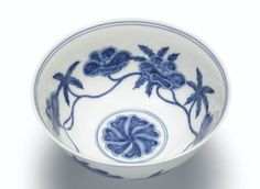A SUPERB BLUE AND WHITE PALACE BOWL MARK AND PERIOD OF CHENGHUA | Lot | Sotheby's