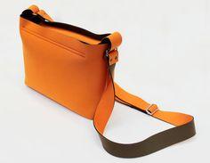 a8e2fb8c0dfb Handmade Design Mini Neoprene Orange Shoulder bag