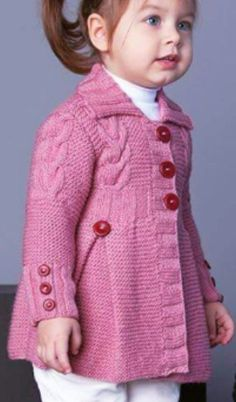Discover thousands of images about 64 Trendy Knitting Cardigan Girl Sweater Coats Crochet Baby Jacket, Baby Cardigan Knitting Pattern, Knitted Baby Cardigan, Knit Baby Booties, Crochet Pattern, Knitting Baby Girl, Baby Girl Crochet, Baby Girl Sweaters, Baby Patterns