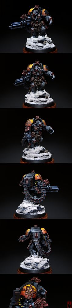 Space Wolves Bronze NMM Terminator