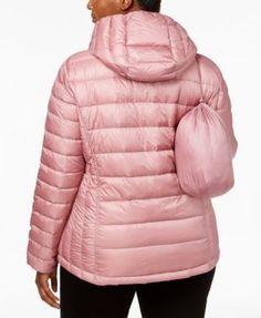8c98b2af9e0 32 Degrees Plus Size Packable Puffer Coat   Reviews - Coats - Women -  Macy s. Green CoatDown ...