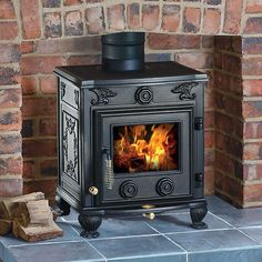Clarke Cottager II Cast Iron Wood Burning Stove - Machine Mart - Machine Mart