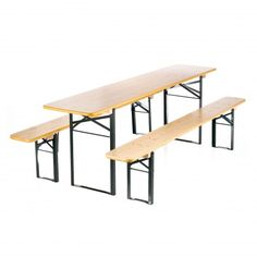 RUKU Beer Garden Table and Bench Set - Classic