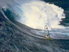 Slechte zaak: Windsurfen met ingang van 2016 geen Olympische sport meer