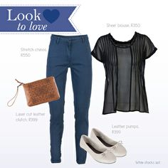 Look to Love. Laser Cut Leather, Stretch Chinos, Laser Cutting, What To Wear, January, Dress Up, Footwear, Clothes For Women, My Style