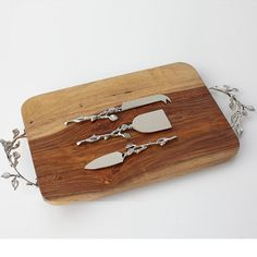Branch Cheese Knife Set | The Company Store