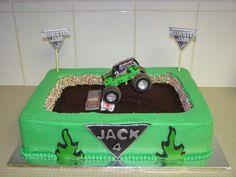 monster jam cakes   Monster Jam - Cakes by Tammi Monster Jam Cake, Monster Truck Birthday, Monster Party, Monster Trucks, 5th Birthday Party Ideas, Birthday Fun, Tire Cake, Party Cakes, Birthdays