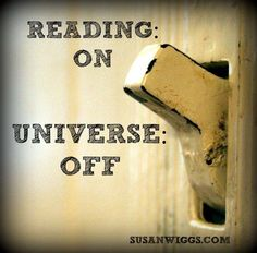 Escape the world around you simply by opening a book!