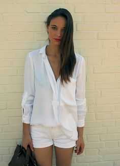 white on white, love #fashion #outfit #whiteshirt #urban #street #effortless #weekend #casual #chic #style #details #simple #modern #minimalistic