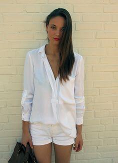 white + white, love