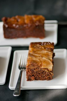 Caramelized Apple Gingerbread
