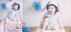 Baby BODY - KRÓLIK - szary (proj. DIAMENTOWE by Sysia), do kupienia w DecoBazaar.com