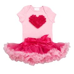 Designer Baby Clothes- Baby LOVE Collection - Bubble Gum Pink Tutu Love Set-Trendy and Stylish Petti Skirts. Find|Buy|Shop|Compare|LollipopMoon.com only $58.00 - #dubaibaby #dubaimall #mydubai
