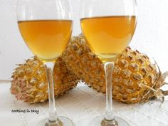 Pineapple wine recipe, learn how to make pineapple wine with pineapple peel.