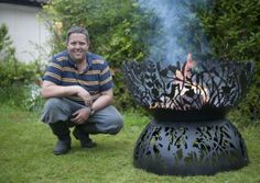 Custom Fire pits by Andy Gage makes the final of the product of the year at the Chelsea Flower Show