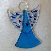 Fused glass ideas christmas on