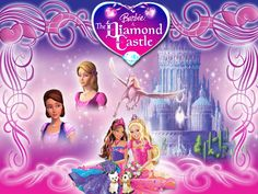 Barbie Cartoon | Barbie In The Diamond Castle Wallpaper