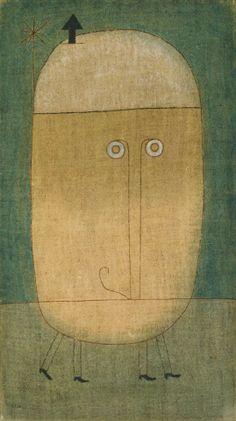Paul Klee - Mask of Fear (1932)