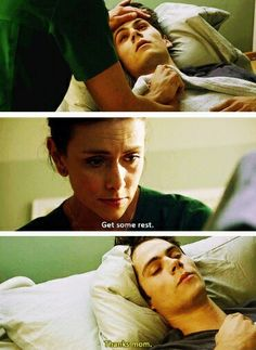 Teen Wolf - Scott's mom and Stiles