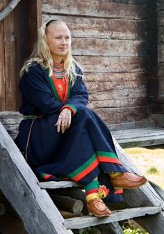 Samiska kvinna