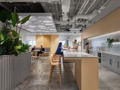 M Moser Associates have realized the community-centric office design for global software giant, Zendesk, located in Singapore. Breakout Area, Internal Design, Cove Lighting, Community Space, Adjustable Height Desk, Lunch Room, Commercial Kitchen, Commercial Design, Working Area