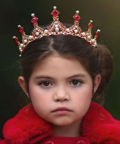 Trish Scully Child Red Highness Tiara. Royal RedTrendy KidsBaby  ShopScullyGirly GirlsKids OutfitsPageantKids ... 117caeda5e78