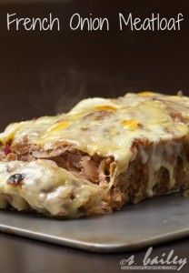 French Onion Meatloaf I Love Food, Good Food, Yummy Food, Tasty, Beef Dishes, Food Dishes, Main Dishes, Cooking Recipes, Healthy Recipes