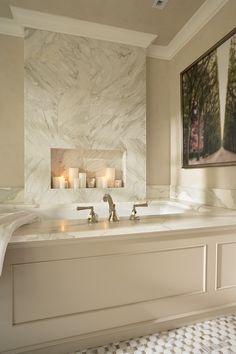 Bathroom Candle Wall Design, Pictures, Remodel, Decor and Ideas