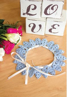 My great-granny crocheted some beautiful doilies, I took the central flower motif (something old) and turned it into a delicate petal garter (something new) in a beautiful soft blue to make 'Something Blue'. Something Blue Bridal, Something Old, Wedding Garter, Crochet Patterns, Crochet Ideas, Crochet Accessories, Ravelry, Crochet Earrings, Delicate