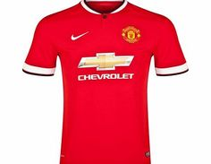 Nike Manchester United Home Shirt 2014/15 611031-624 Manchester United Home Shirt 2014/15 The red Nike 2014/15 Manchester United Home Shirt pays homage to the Red Devils with MUFC tradition in every detail for ultimate club pride. The breathable, sweat- http://www.comparestoreprices.co.uk/sportswear/nike-manchester-united-home-shirt-2014-15-611031-624.asp