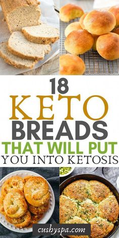 Try these easy keto bread recipes and stay in ketosis while eating seemingly high in carbs foods. Great if you're on keto diet and looking to lose weight. Keto Foods, Ketogenic Recipes, Diet Recipes, Healthy Recipes, Bread Recipes, Smoothie Recipes, Lunch Recipes, Healthy Foods, Slimfast Recipes